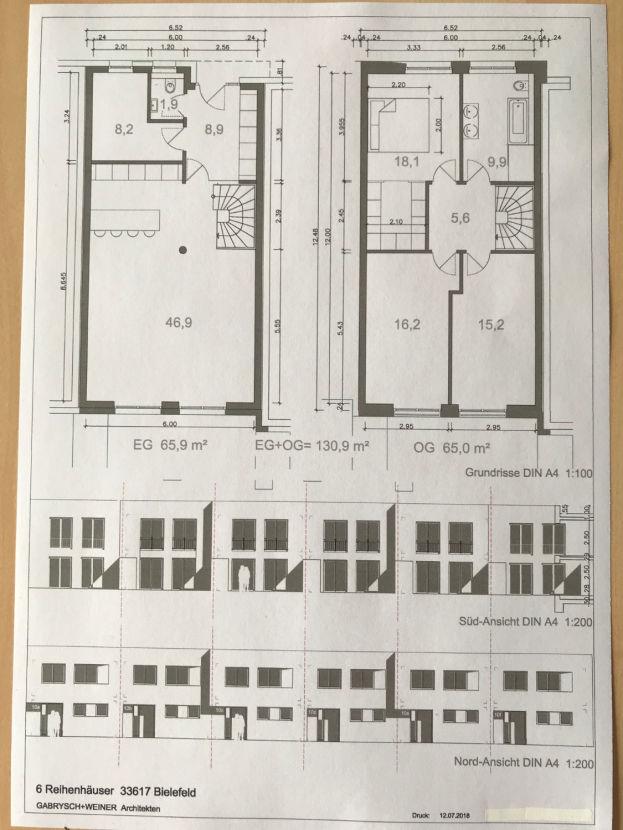 IMG_4318 -- Neubau - Reihenhaus in zentraler Lage von Bielefeld - Heepen