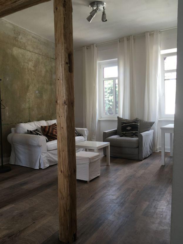 IMG_9551 -- Schöne geräumige lichtdurchflutete Altbauwohnung, Großes Wohnzimmer, moderne offene Küche