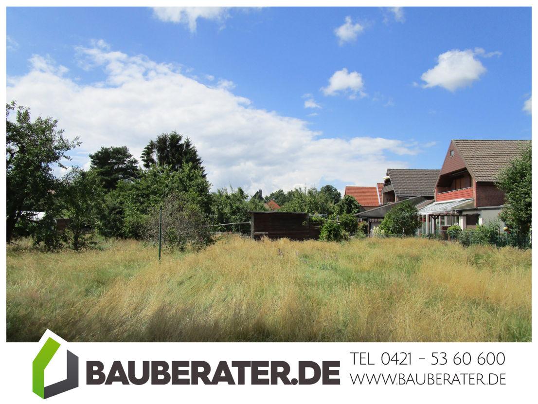 Titel -- Zentrales Baugrundstück mit Abrisshaus in Vegesack