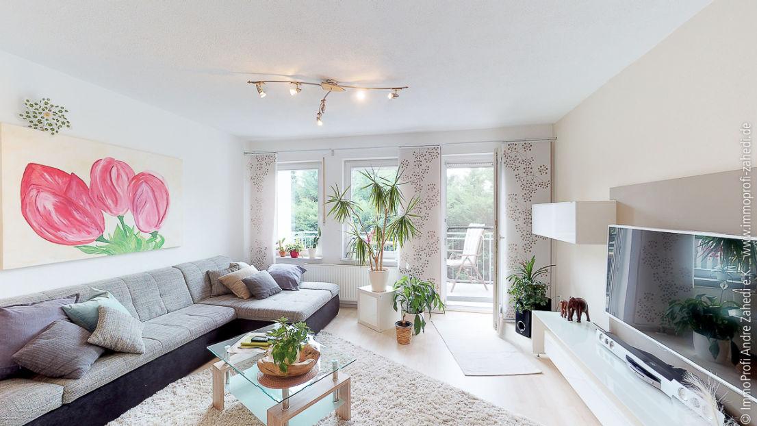 Wohnzimmer -- Reihenmittelhaus (nach WEG) mit Garage in Griesheim +Virtulle 3D Tour+