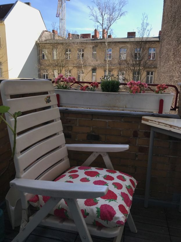 Balkon -- Wohnen im schönen Schöneberg