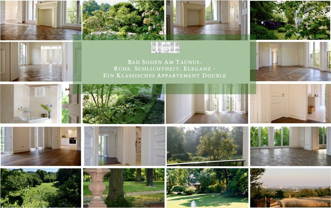 Impressionen -- Serenity. Simplicity. Elegance - A Classical 'Appartement Double'