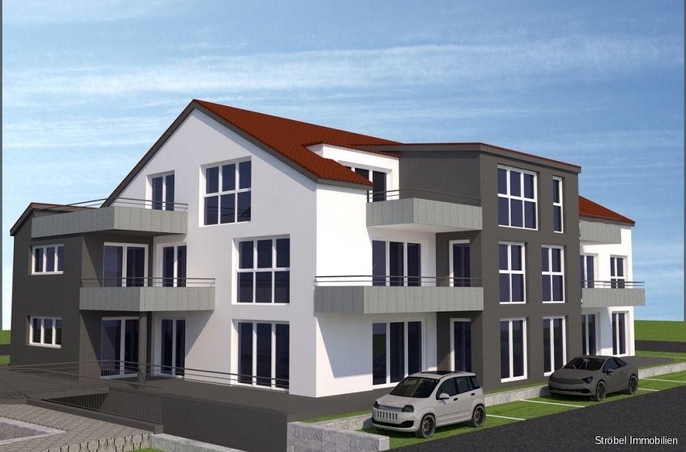 Ansicht -- Exklusive 2-Zimmerwohnung in Satteldorf zu mieten - Erstbezug