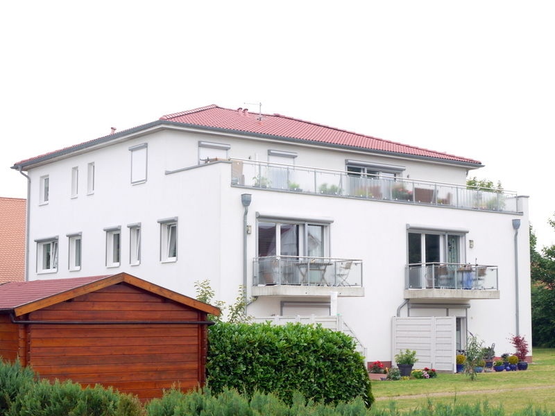 Hausansicht -- Penthouse in St. Lorenz Nord