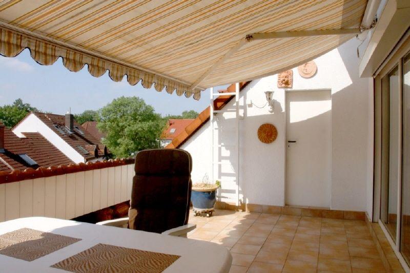 Dachloggia -- Sonnige und ruhig gelegene Maisonette mit großzügiger und geschützter Dachloggia!