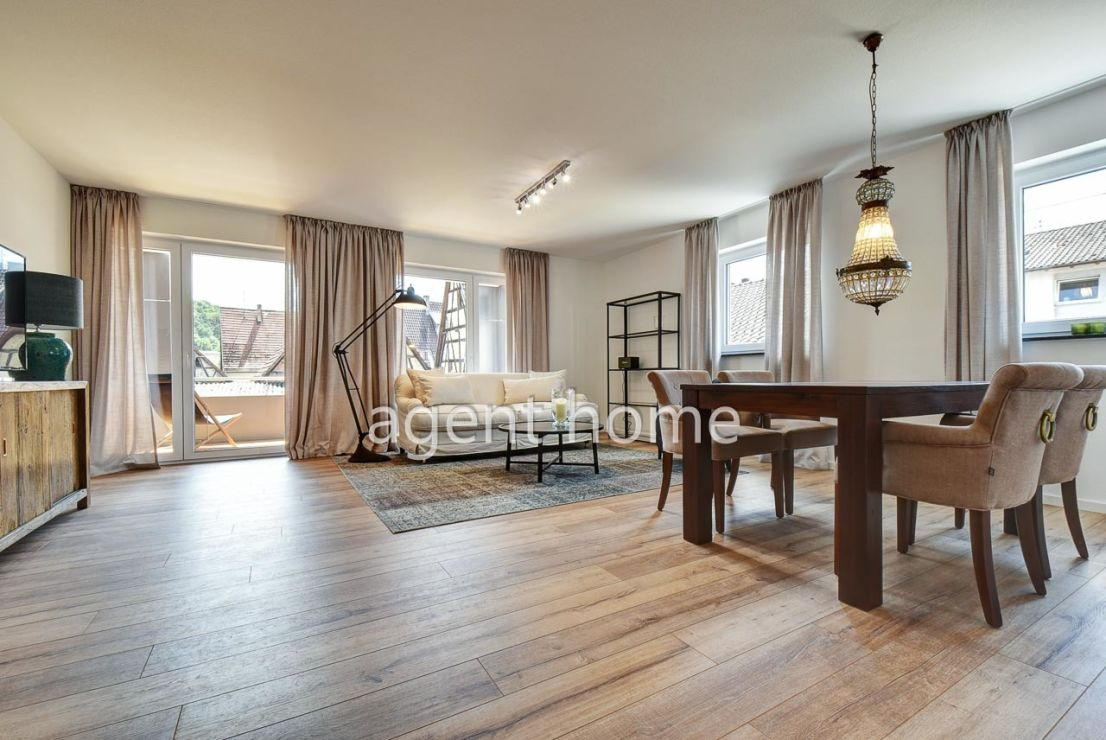 null -- MÖBLIERT - SERVICED APARTMENT in RUHIGER LAGE