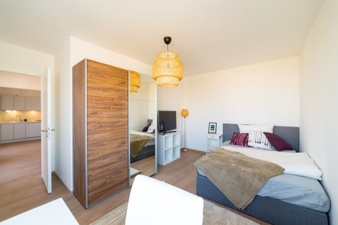 homefully -- ROOM in flat-sharing community // Fully equipped, private bedroom, weekly cleaning – ALL-INCLUSIVE