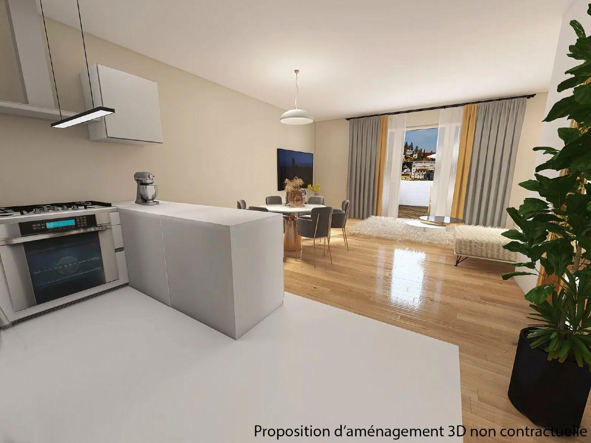 Vente appartement 3 pièces 99,2 m2