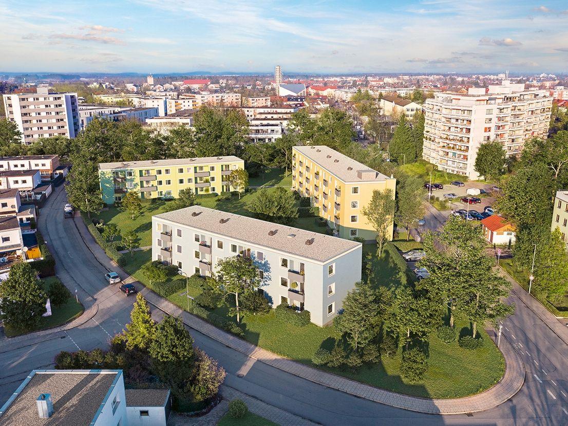 Außenansicht -- DAWONIA - provisonsfreie - Attraktive Kapitalanlage vor den Toren Münchens