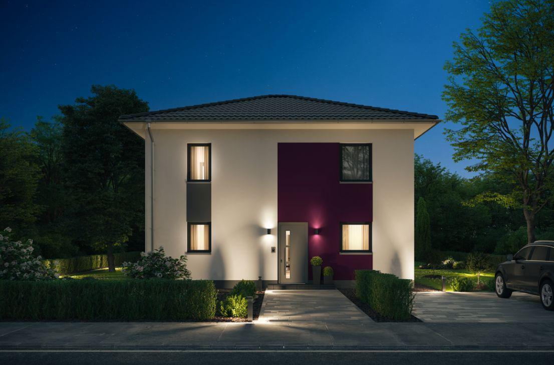 Stadvilla 6-143 -- Bauen mit Elbe-Haus®! Wunderschöne Stadtvilla mit großzügigem Raumangebot in Dahlem-Schmidtheim