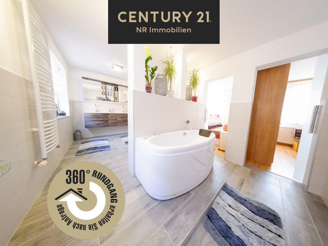 360 Grad Rundblick -- Großes Einfamilienhaus in Barbis. Jetzt mit virtueller Besichtigung