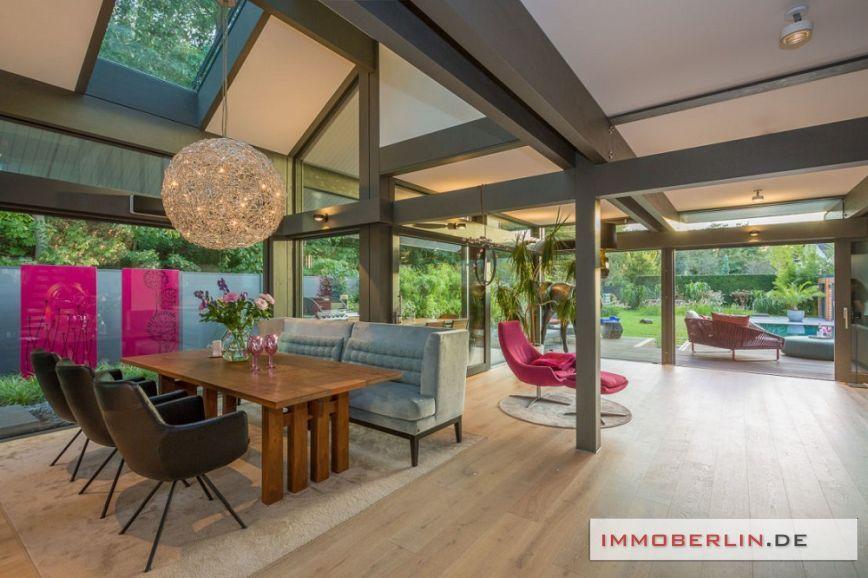 18 -- IMMOBERLIN.DE - Luxuriöses Haus mit exquisitem Ambiente & Traumgarten in Toplage