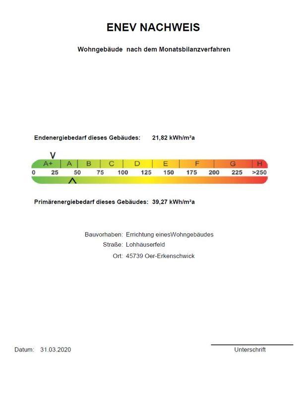 Wärmeschutznachweis 26b -- Großzügig Wohnen (190m²) in bester Lage im Kreis – direkt an der Haard!