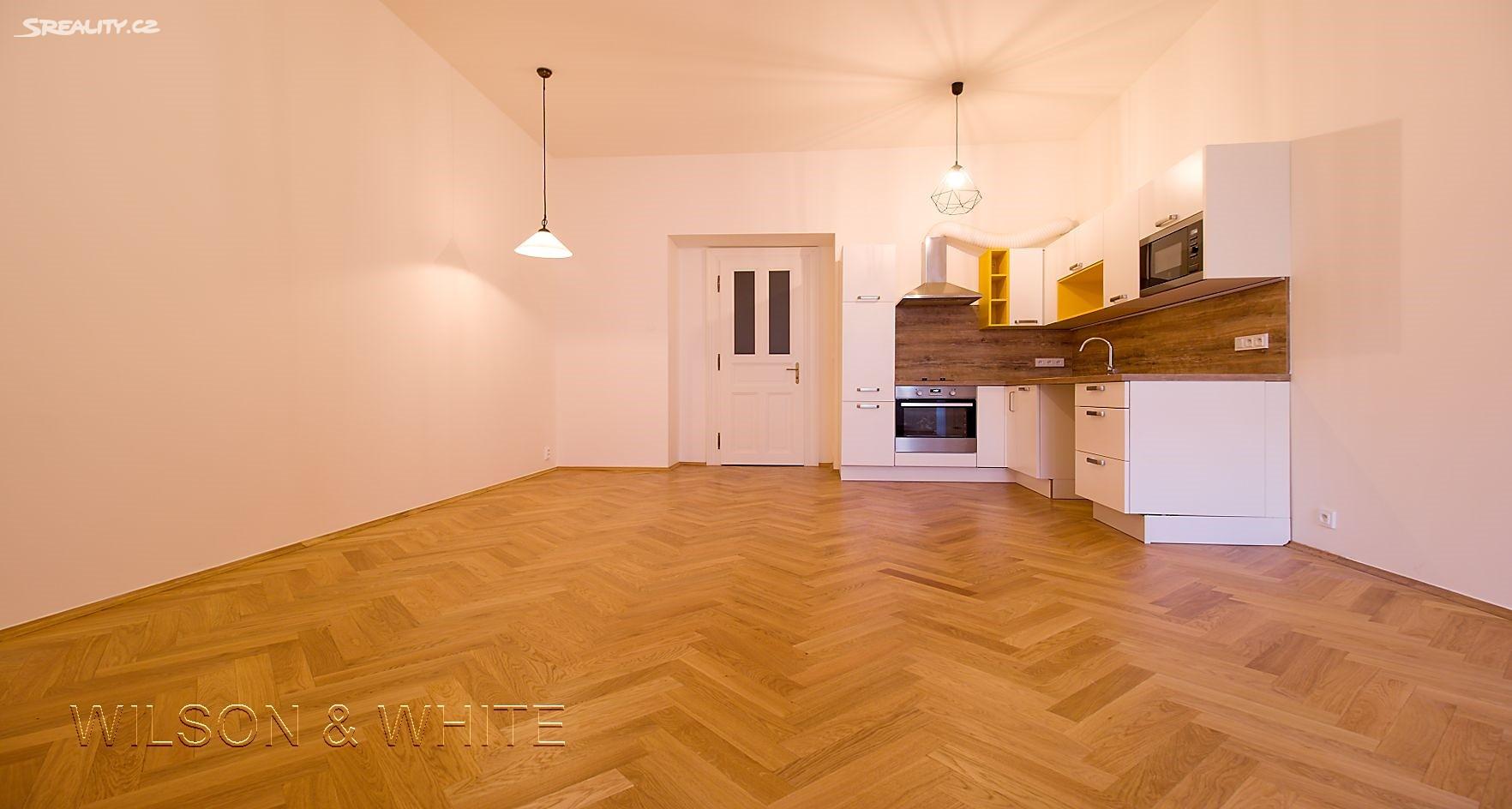 Pronájem bytu 1+kk 46m², Korunovační, Praha 7 - Bubeneč