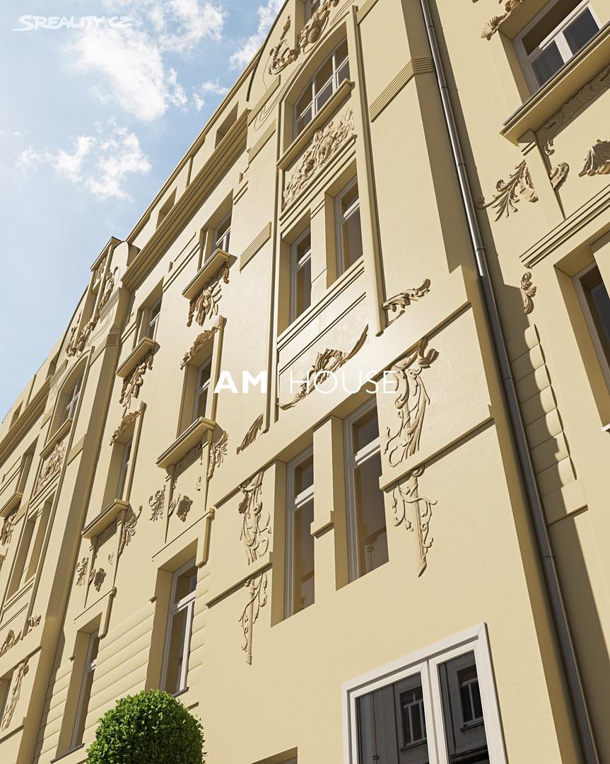Prodej bytu 1+kk 27m², V zahradách, Praha 8 - Libeň