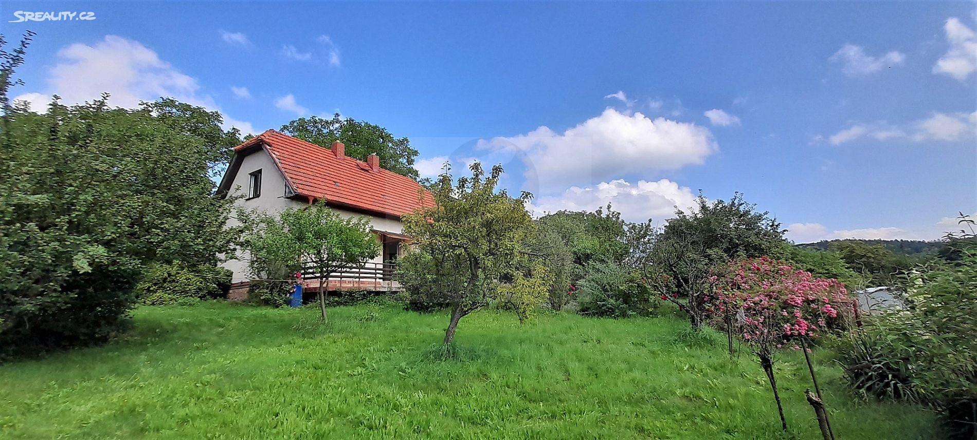 Prodej  rodinného domu 90m², pozemek 750m², Chocerady - Samechov, okres Benešov