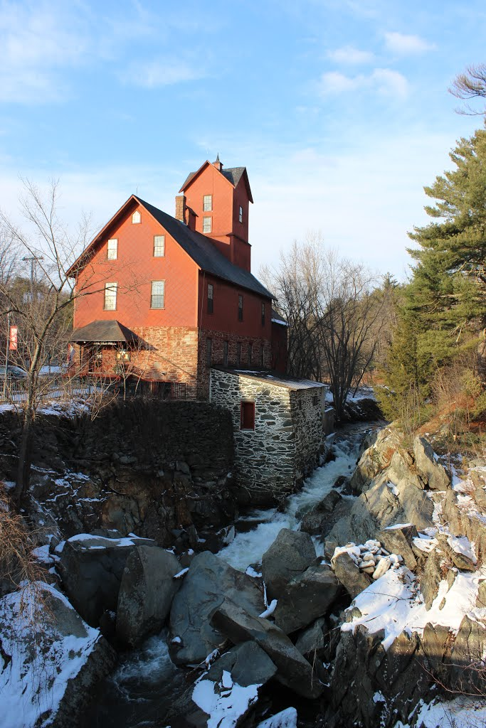 The Red Old Mill
