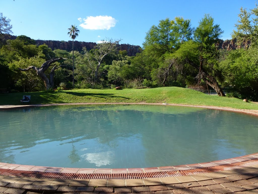Swimmingpool in der Waterberg Lodge