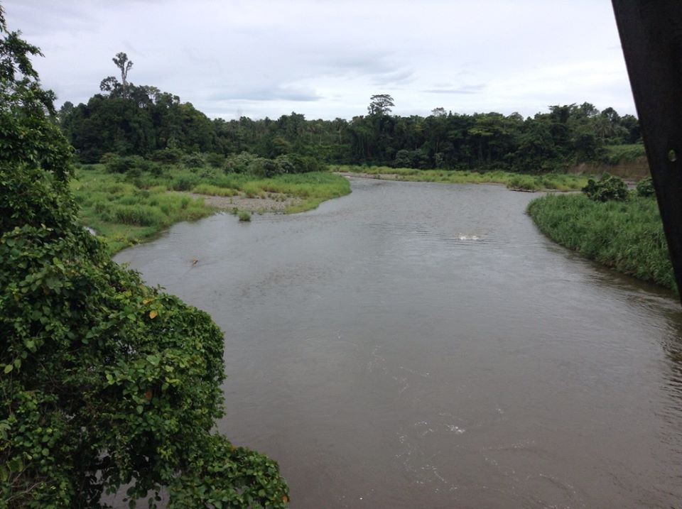 Flooded Laluai River in Bougainville, PNG, Photo by Aloysius Laukai on 23-02-2014