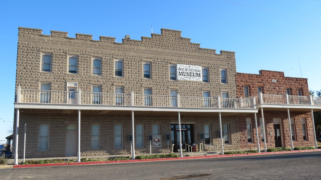 West Of The Pecos Museum In 1896 Orient Hotel Texas