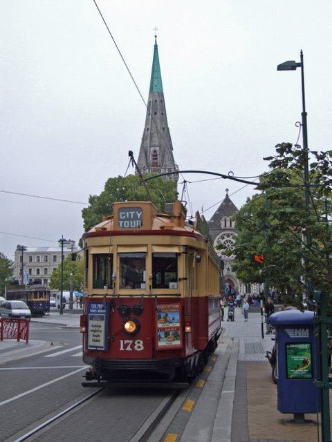 0675 Christchurch, Cathedral Square
