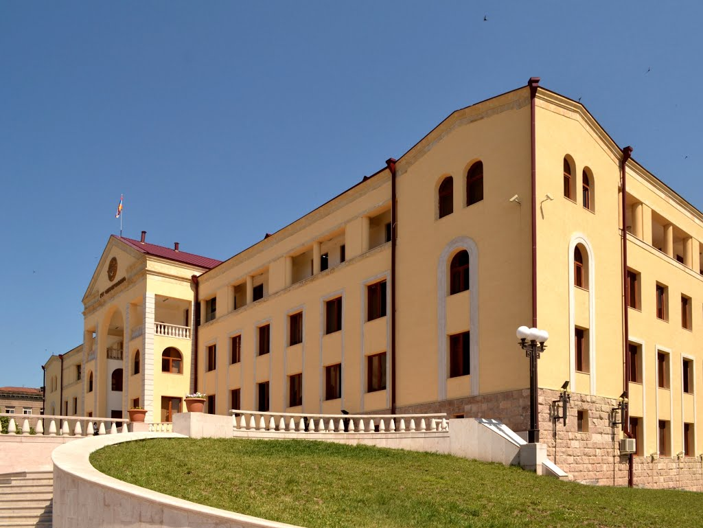 Government building in Stepanakert