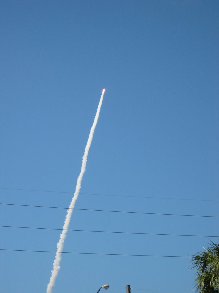 Liftoff of Discovery STS-124