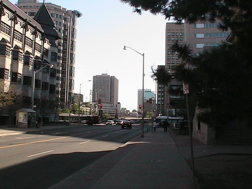 Laurier Street Facing West