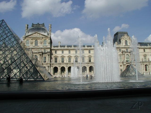 The Louvre outside