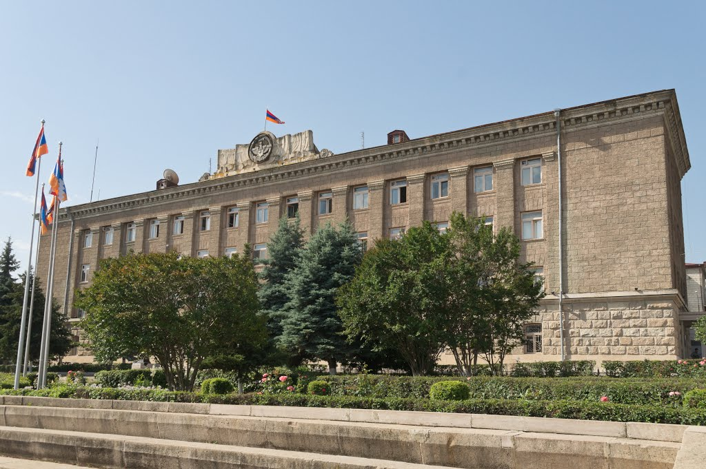 The Presidential Palace of Nagorno Karabakh Republic