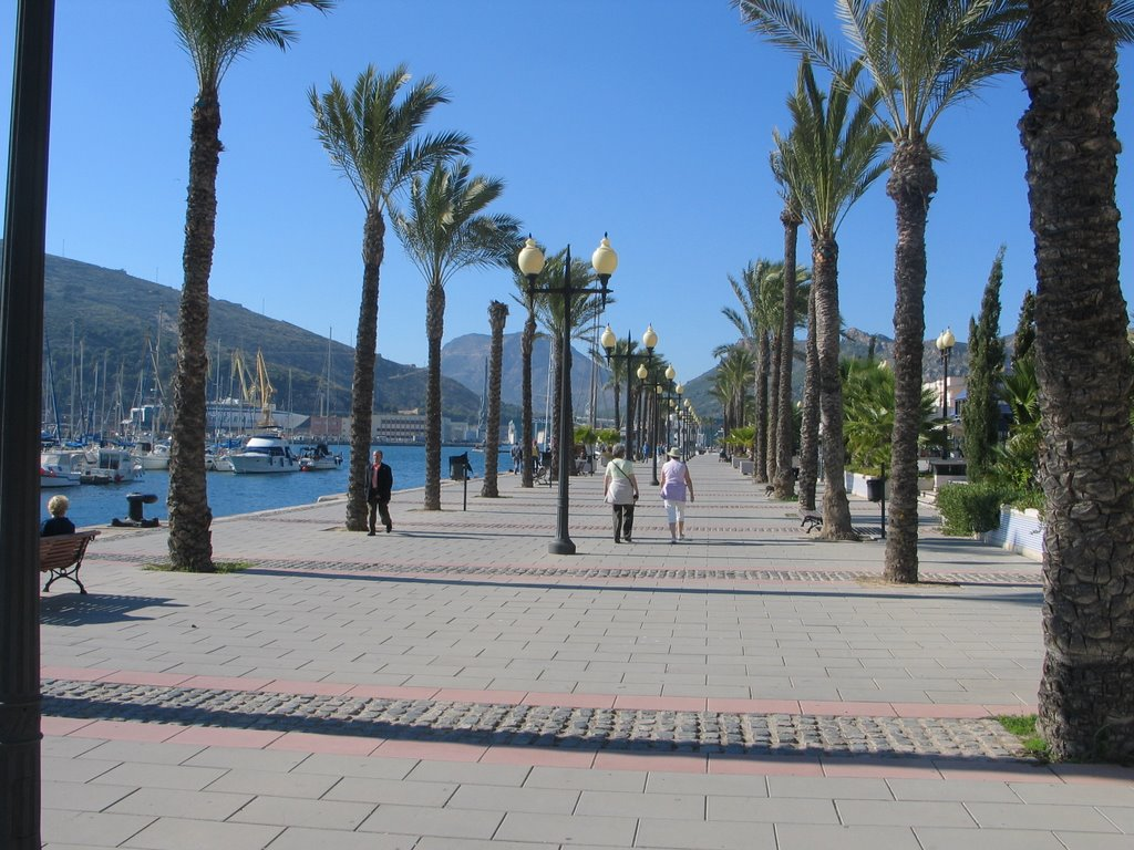 The waterfront, Cartagena, Spain