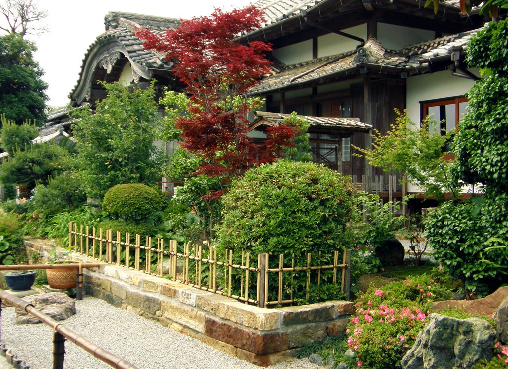 Buddhist Temple in Traditional Japanese Style