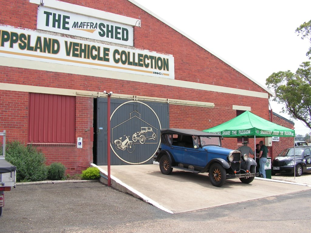 Gippsland Vehicle Collection - The Maffra Shed.