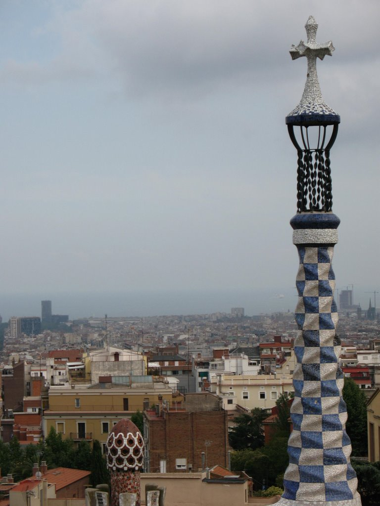 view from guell
