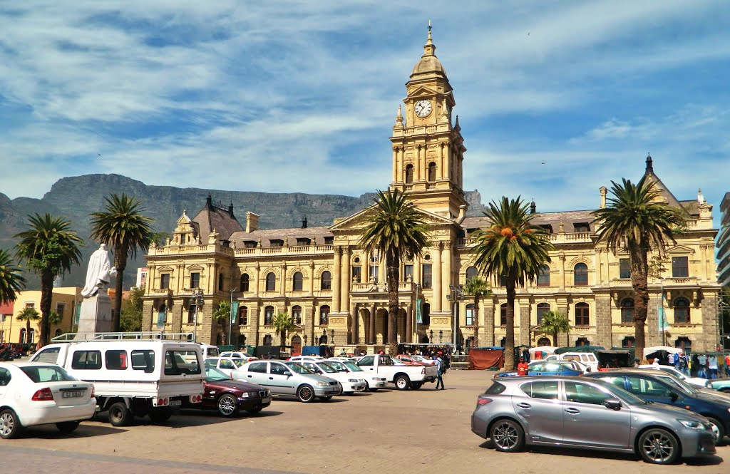 Cape Town,Grand Parade Square & City Hall