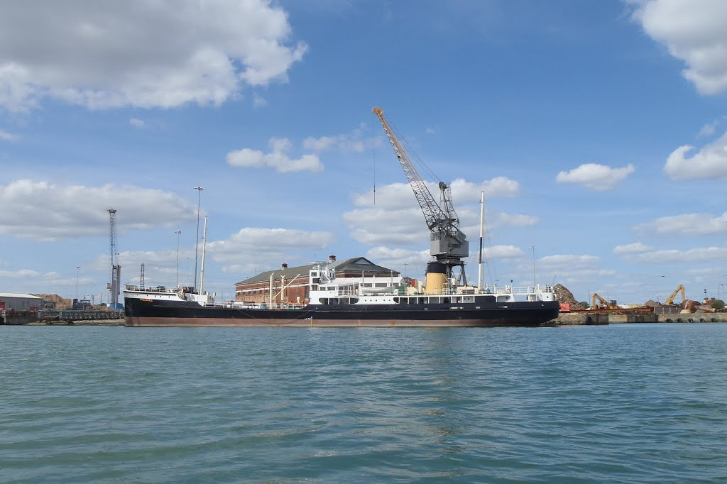 The Shieldhall out of Glasgow in Southampton