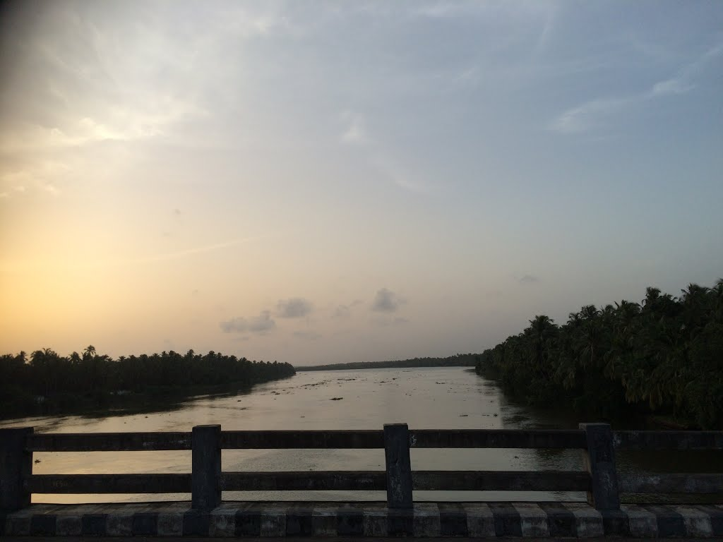 Pulikkakadavu Bridge - Padoor,Thrissur- Kerala