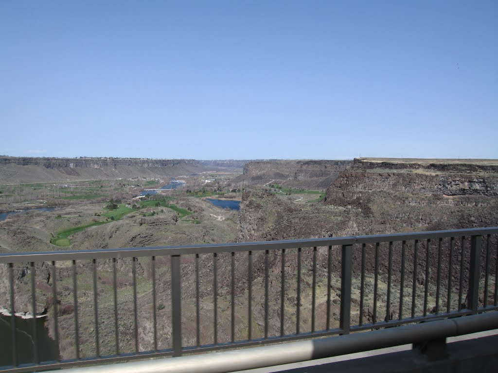 Above the Snake River Canyon