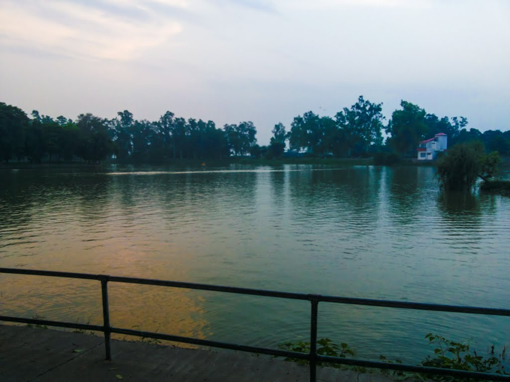 Lake View in evening