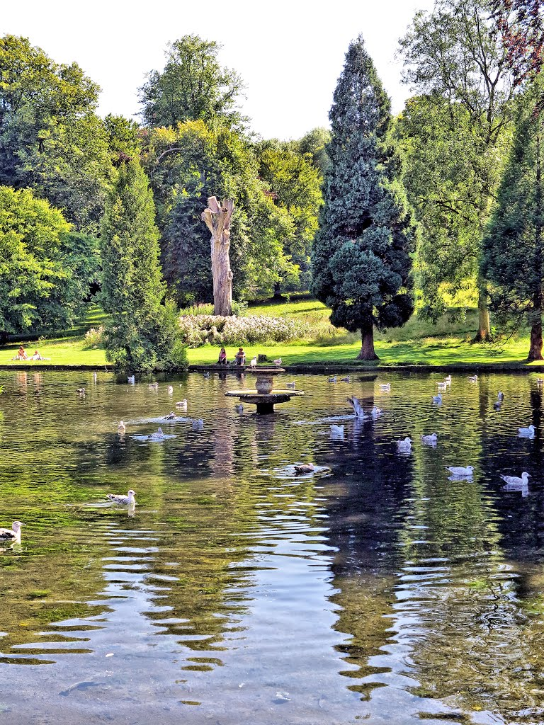 Abbey Lake, Kearsney Abbey, Temple Ewell, Dover