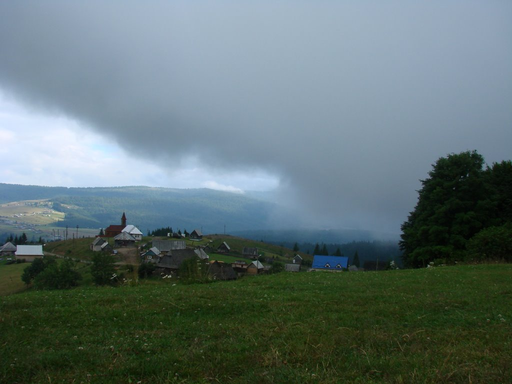 The Storm Is Coming at Dealu Botii