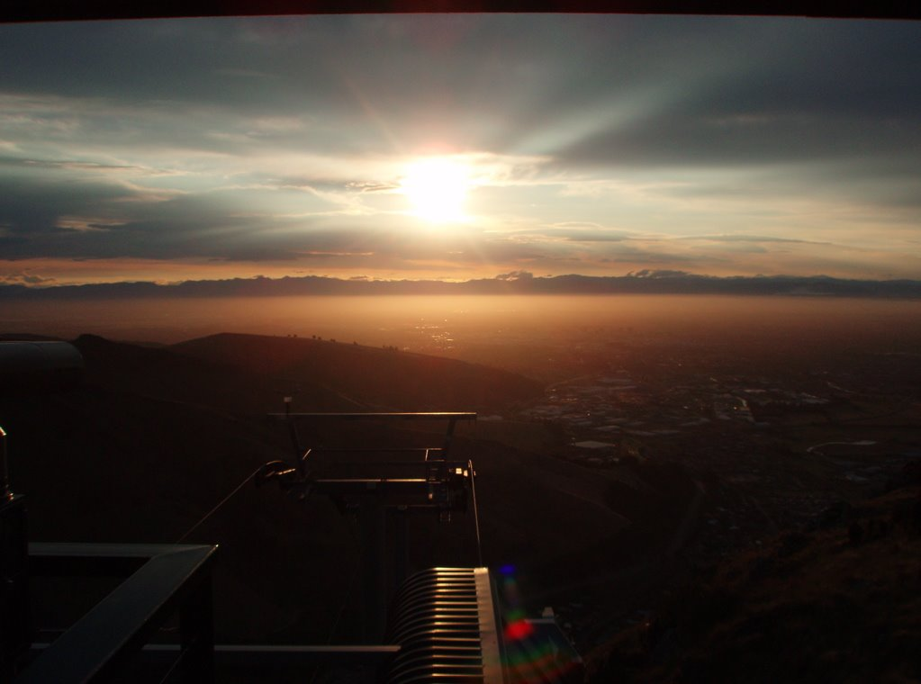 Sunset from Mount Cavendish