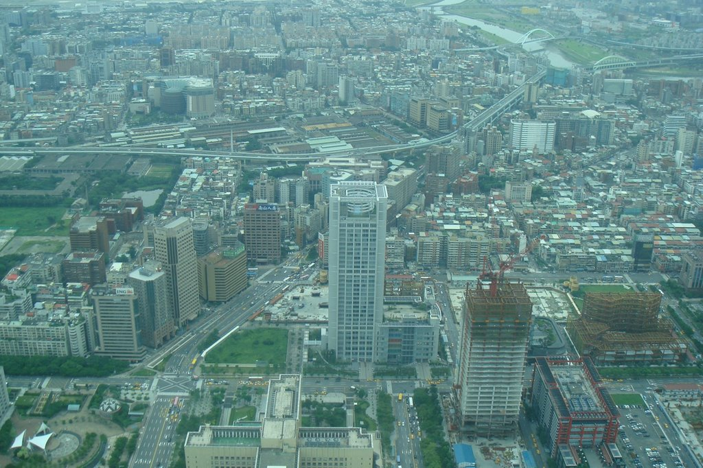 Northern view from Taipei 101