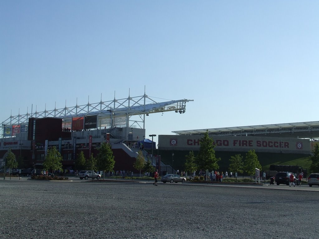 Toyota Park from parking lot