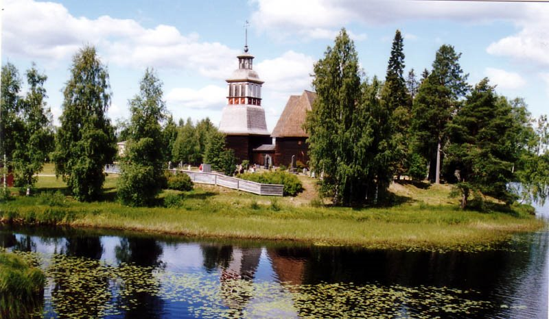 Petajavesi old church