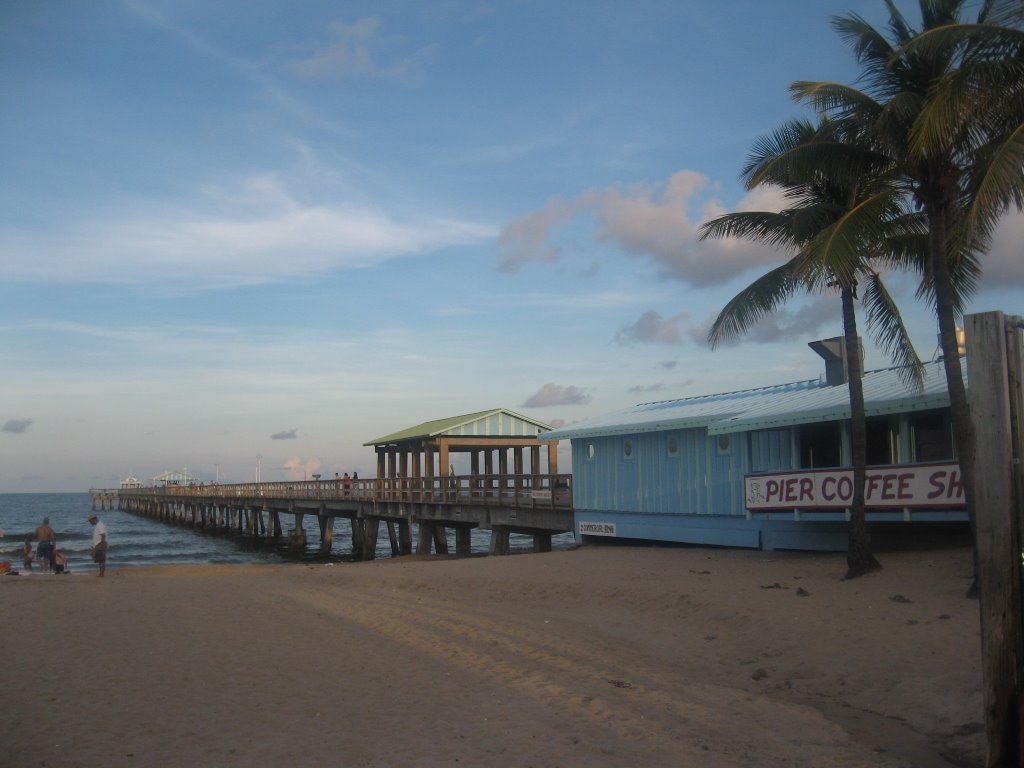 Pier in North Ft. Lauderdale