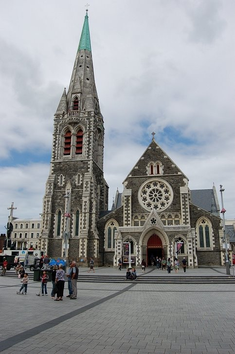 Christchurch Cathederal new Zealand