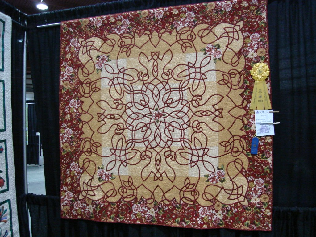 1 of 100s of Amazing Quilts @ the VT Quilt Festival June 2008