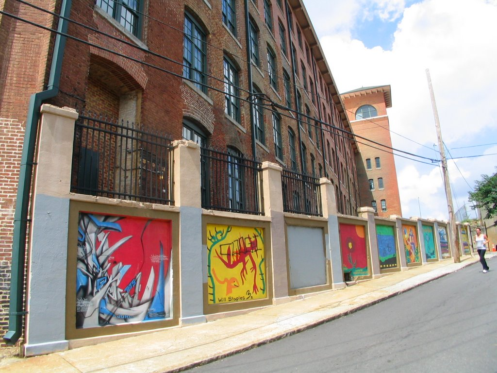 Murals And Fulton Cotton Mill Lofts Cabbagetown Mapio Net