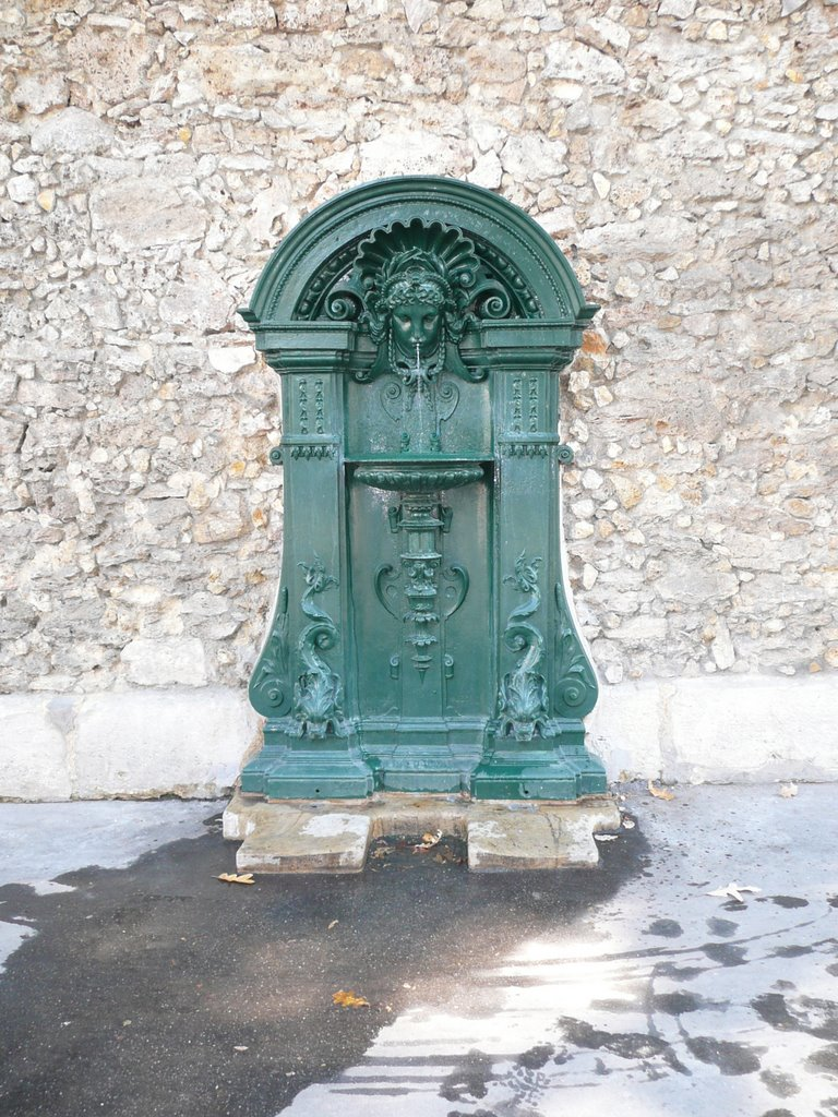 Wallace Fountain (Rue Geoffroy Saint-Hilaire)
